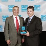 Michael O'Donoughue receiving the 2015 POY Award from Energy Star